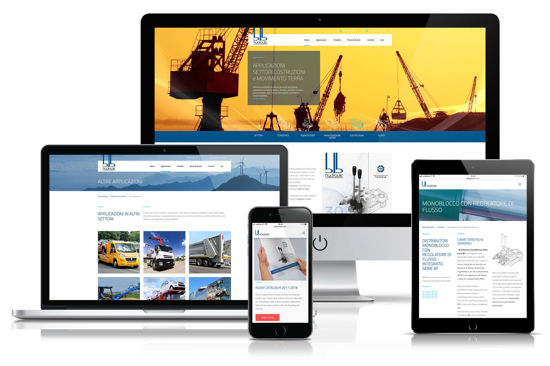 BLB Hydraulic responsive site